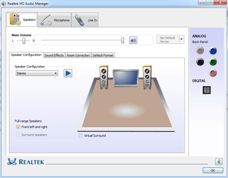 Download realtek hd audio driver 2. 62 for windows xp, vista.