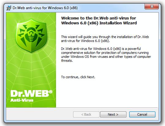 Скачать бесплатно dr. Web antivirus один из самых известных и.